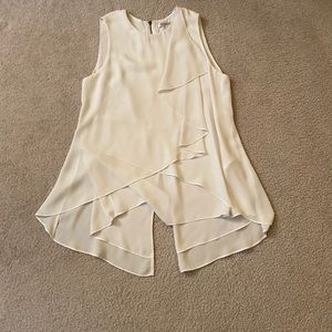 Kenneth Cole breezy blouse ~ White, Size XS